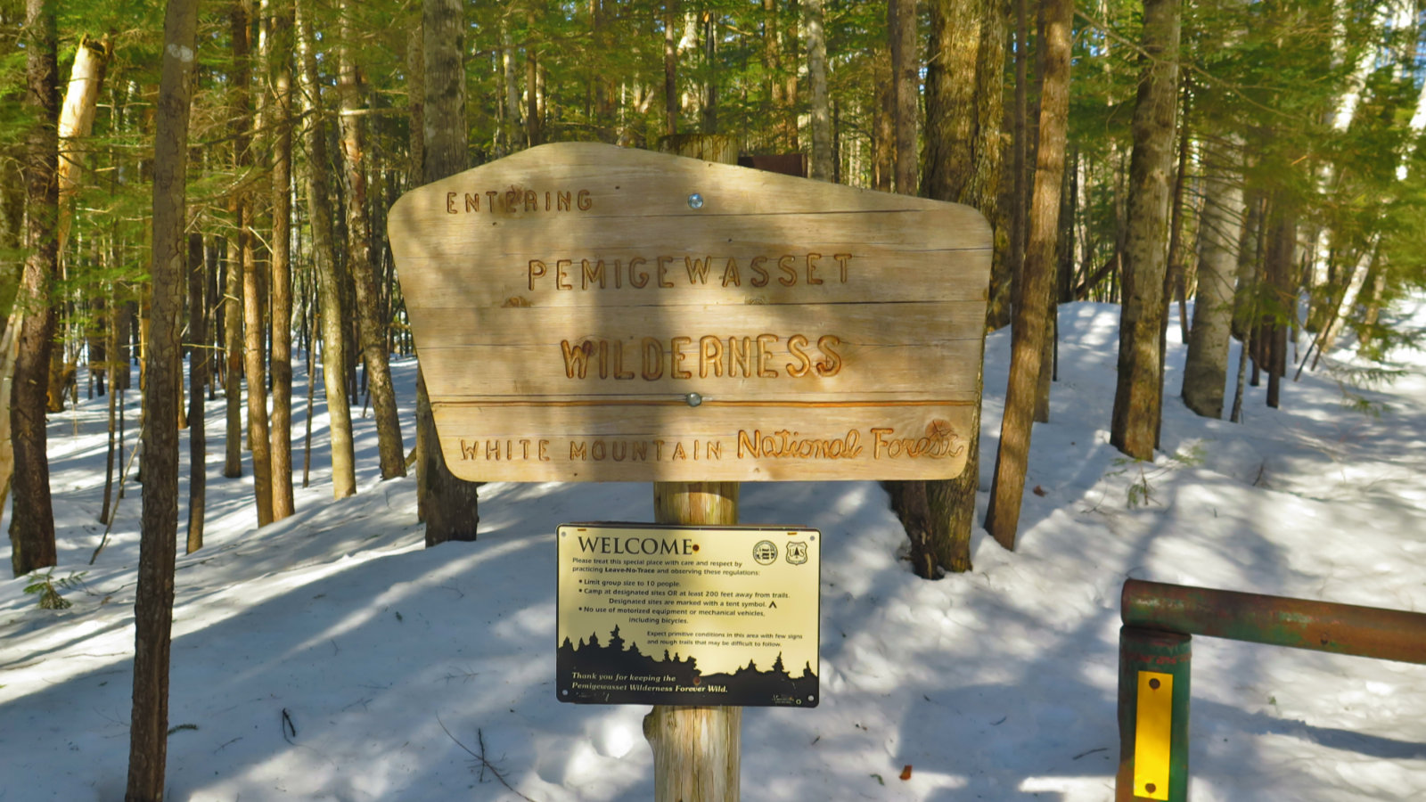 Pemi-East-Side-Wilderness-Sign-20200303
