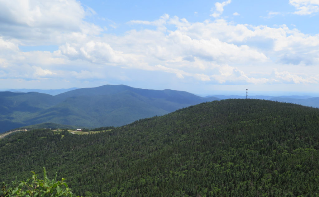Top of Waterville Valley Ski Area.
