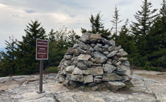 North Pack Monadnock summit cairn